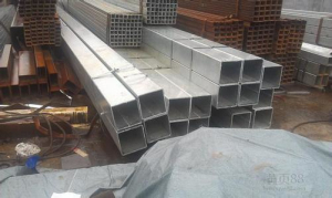 Q360 Galvanized Rectangular Tube